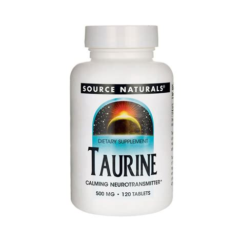 Taurine Also Search For Taurine 500 Mg 120 Tabs