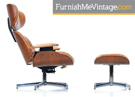 eames recliner mid century modern eames style recliner by selig