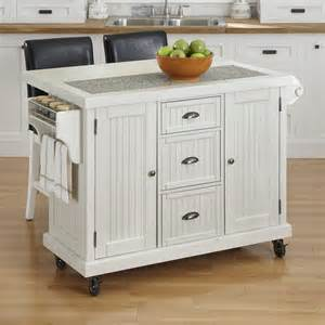 Home Styles Nantucket Kitchen Island by Home Styles 50 Nantucket Kitchen Cart And Two Stools Atg