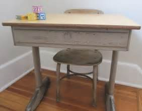 vintage school desk metal american seating company