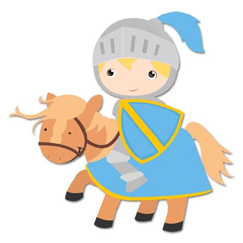 infantil de gracia caballeros medievales vinilo infantil caballero azul
