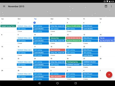 apple google apple and google calendars a design comparison think