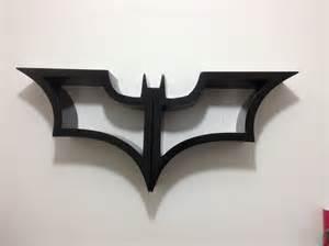 Cool Wall Shelf batman bookshelf made of wood