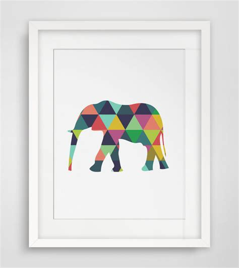 printable elephant art elephant print elephant art elephant wall art elephant
