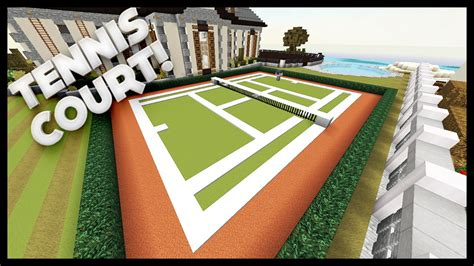 how much to build a tennis court in backyard minecraft how to build a tennis court youtube
