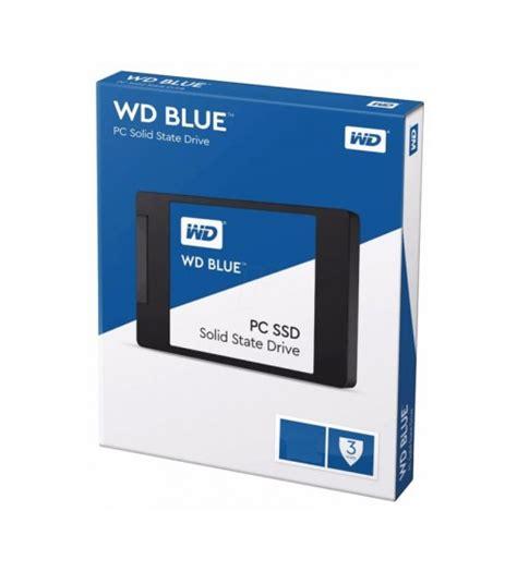Wd Blue Ssd 2 5 500gb Sata Biru wd western digital blue pc solid state drive ssd sata 2 5