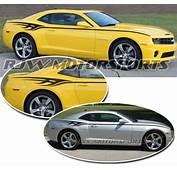 Camaro Graphic Decals Custom Vinyl Graphics  Autos Post