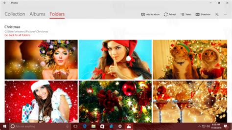 themes windows 10 christmas christmas theme 2016 for windows 10
