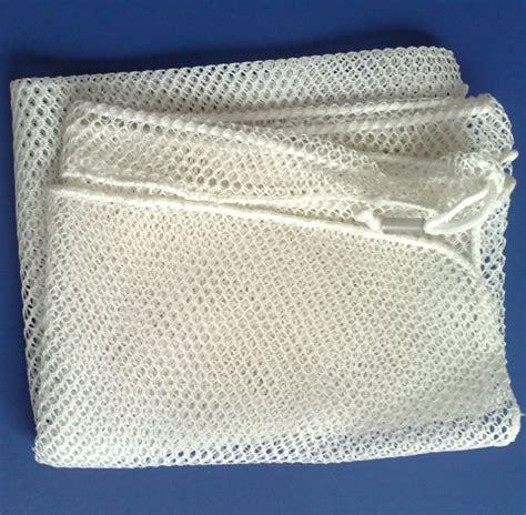 Drawstring Mesh Laundry Bag laundry bag mesh utility drawstring 24x36 white net