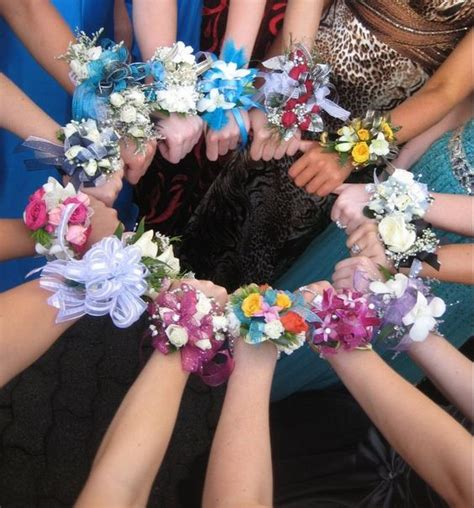 girls corsages at high school prom prom 2016 ideas
