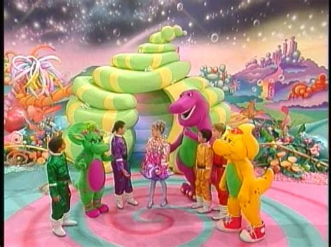 Bj 8873 Big Flower Top barney in outer space barney wiki fandom powered by wikia