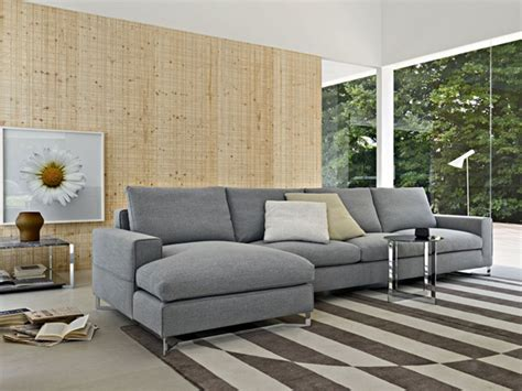 light gray sofa in living room