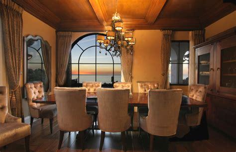 modern spanish mediterranean dining room los angeles