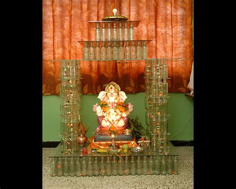 ganpati decoration ideas at home images studio