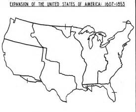 blank map of the us westward expansion jpg 1409 215 1161