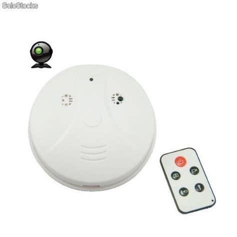 camara espia con sensor de movimiento camara espia de vigilancia oculta en detector de humo