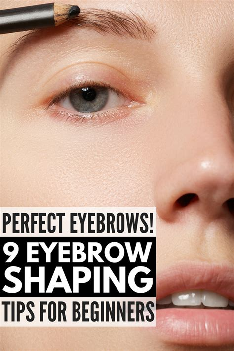 7 Tips For Perfectly Groomed Eyebrows by How To Get Eyebrows 9 Eyebrow Shaping Tips For