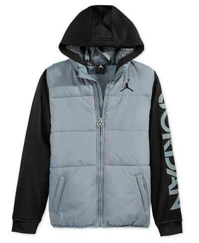 Jordanfa Jaket boys puff vest hooded jacket coats jackets