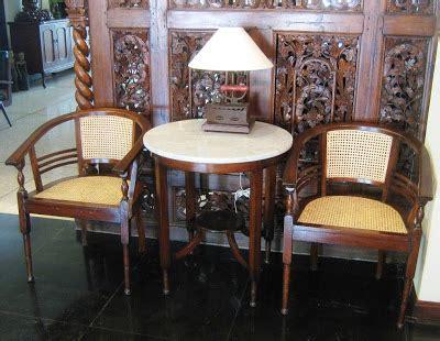 toko barang antik dijual kursi lenong tua sudah terjual