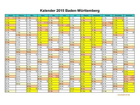 Jahreskalender 2018 Bw Kalender Baden W 252 Rttemberg Kalender 2017
