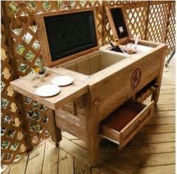 outdoor patio cooler rustic outdoor patio cooler bar the baum list