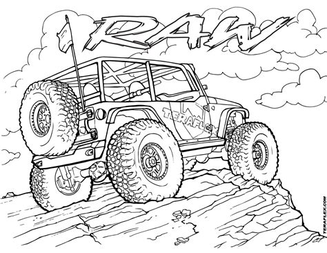 coloring page of a jeep pin by bailey duxworth on artsy fartsy pinterest jeeps