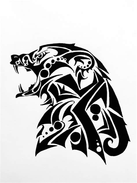tribal bear tattoo designs tribal by ad sugar on deviantart
