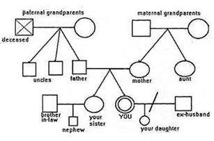 family genome template how to make and use a family quot genogram quot map