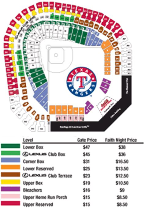 texas rangers suite map mercyme pregame concert august 25 texas rangers