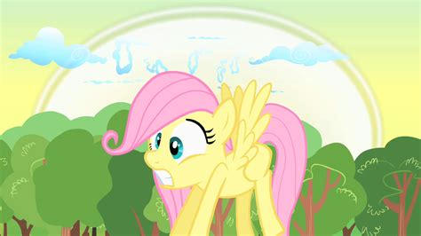 image filly fluttershy fearful sepng