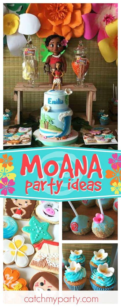 birthday party ideas 225 best moana birthday party ideas images on pinterest