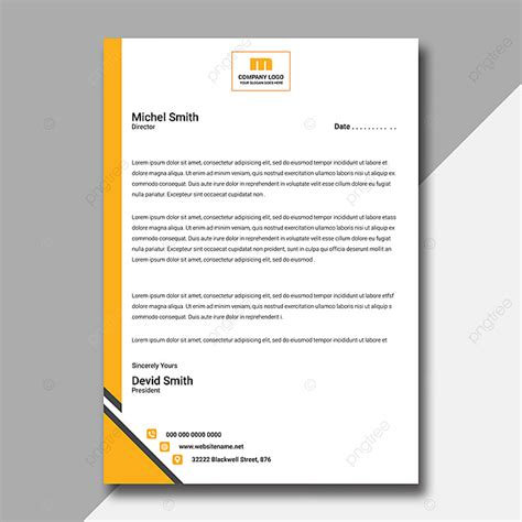 interior design company letterhead design template