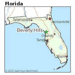 Beverly Hills Florida Map by Best Places To Live In Beverly Hills Florida