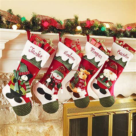 stocking ideas personalized diy christmas stockings ideas stocking