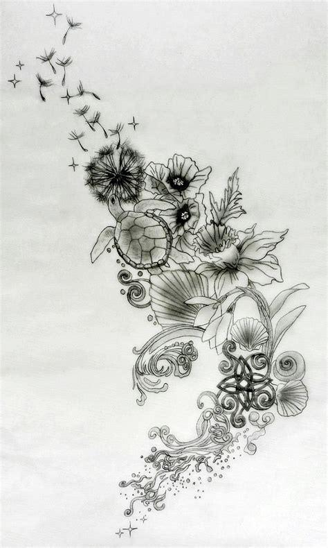 flowing tattoo designs custom tattoos tania s