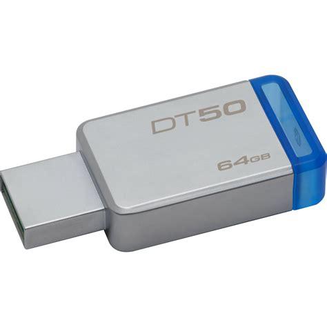 Kingston 64 Gb Usb 3 0 kingston 64gb datatraveler dt50 usb 3 0 flash drive dt50 64gb