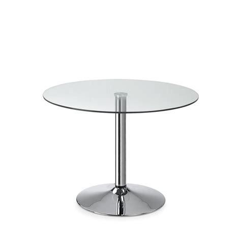 table ronde en verre style vintage par drawer