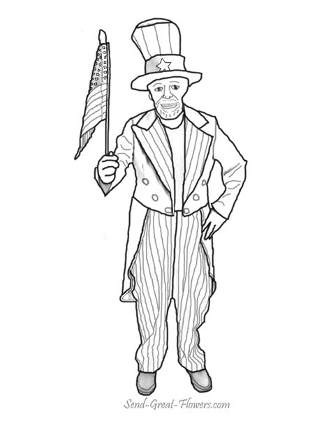 uncle sam i want you coloring page 7 best images of printable picture of uncle sam uncle