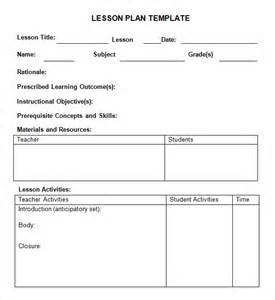 speech therapy lesson plan template best photos of preschool lesson plan template pdf