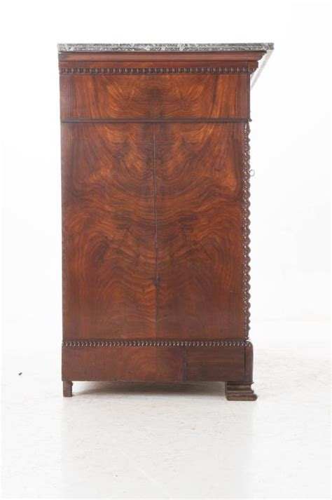 19th century louis philippe drop 19th century louis philippe mahogany drop front desk with marble top for sale at 1stdibs