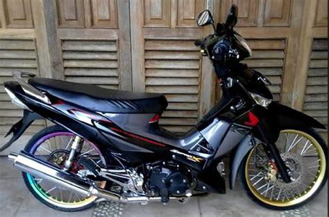Modif Supra X 125 by Cara Modif Honda Supra X 125 Simpel Dan Keren Modif Balap