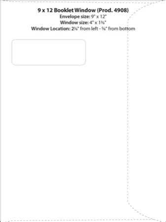 Envelope Templates Commercial Window Envelope Template Wsel Western States Envelope Templates