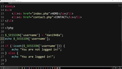 tutorial php session session start php tutorial youtube