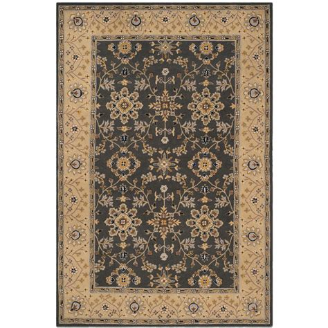 8 Ft Area Rugs by Safavieh Easy Care Gray 8 Ft X 10 Ft Area Rug