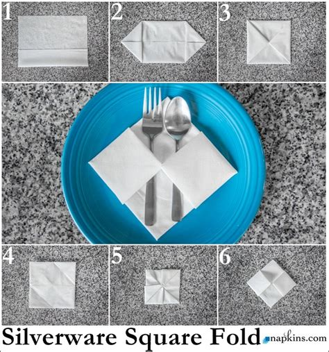 Folding Silverware Into Paper Napkins - paper napkin folding fancy napkin folds napkins