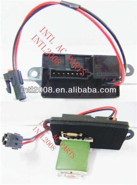 blower motor resistor specifications 15305077 89018597 89019089 1581087 158770 air conditioning
