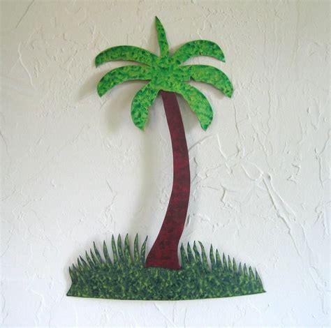 How To Make Handmade Tree - custom made handmade upcycled metal palm tree wall