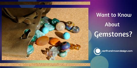 want to about gemstones earth and moon design