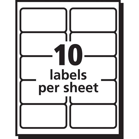 avery 5663 template avery 5663 avery easy peel address label ave5663 ave