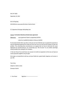 How To Write A Lease Letter by Jop Tips 工作技巧 작업 팁 How To Write Simple Letter By Email For Termination Of Lease Agreement